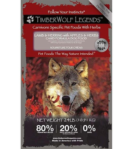 50% OFF: Timberwolf Legends Mediterranean Dry Dog Food (Expires on 22 Aug)