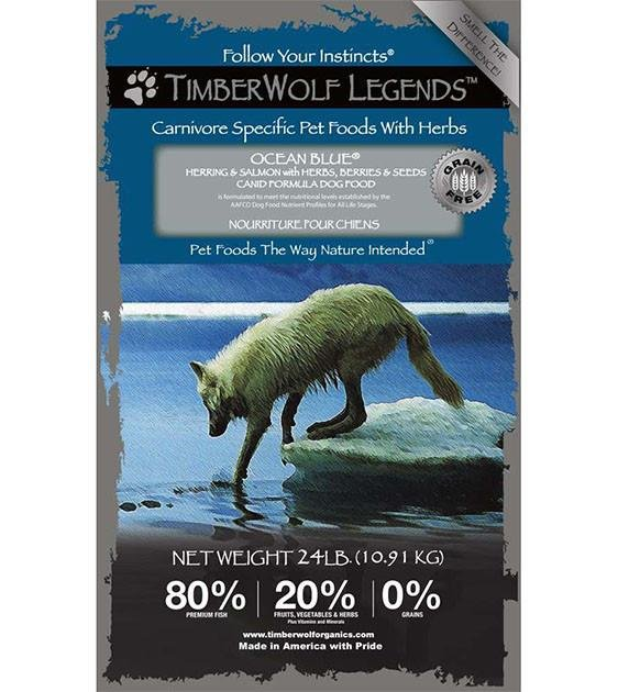 50% OFF: Timberwolf Legends Ocean Blue Dry Dog Food (Expires on 22 Aug)