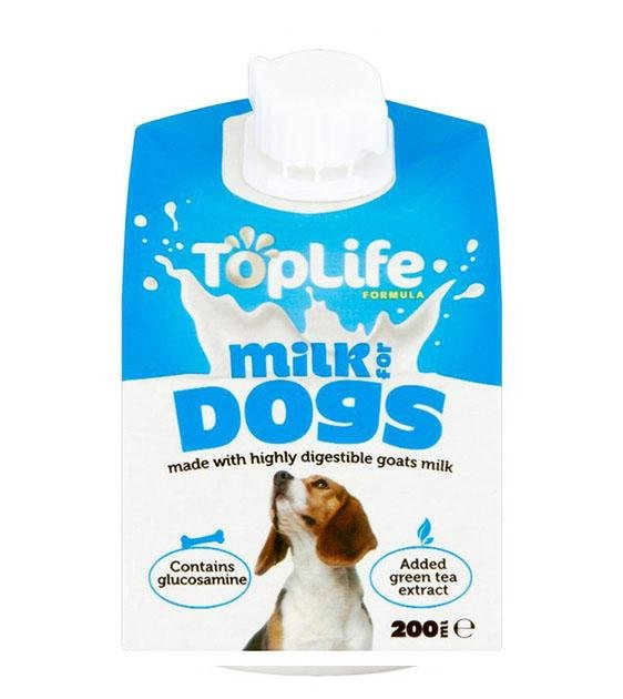 Top Life Goat's Milk for Dogs