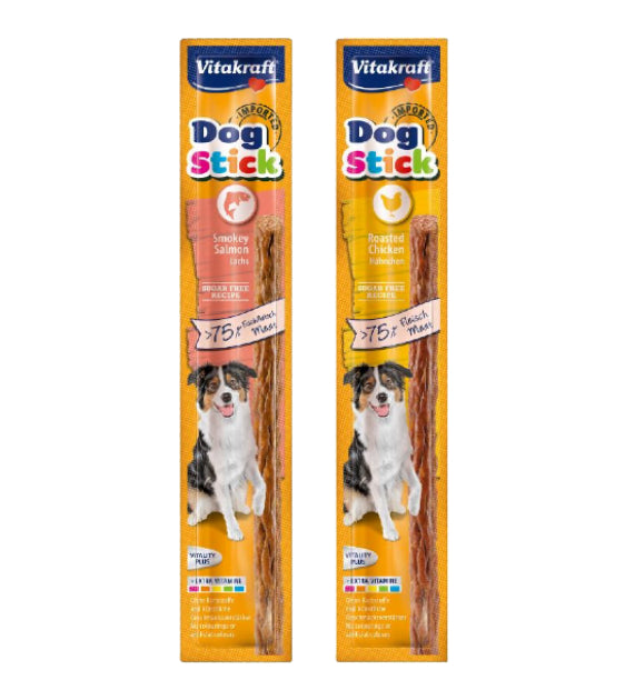 GIFT WITH PURCHASE >$99: Vitakraft Dog Stick Treats (Random Flavour x2)