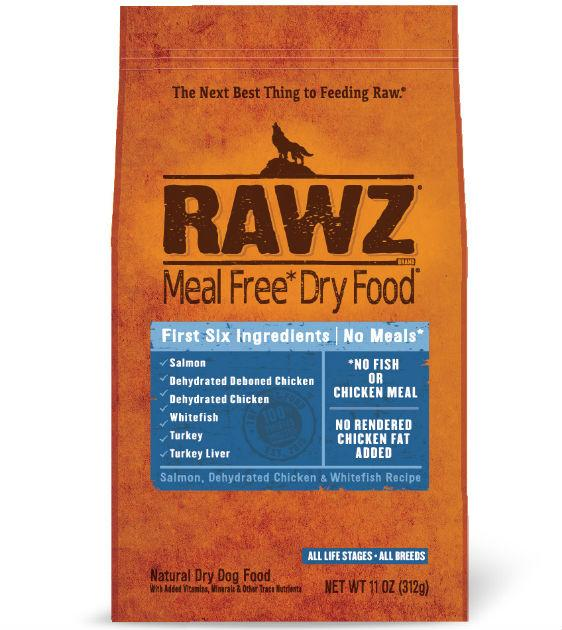 Rawz Meal Free Salmon, Dehydrated Chicken & Whitefish Dry Dog Food
