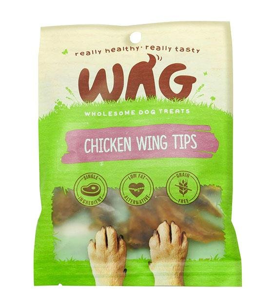 WAG Grain Free Organic Chicken Wing Tips Dog Treats