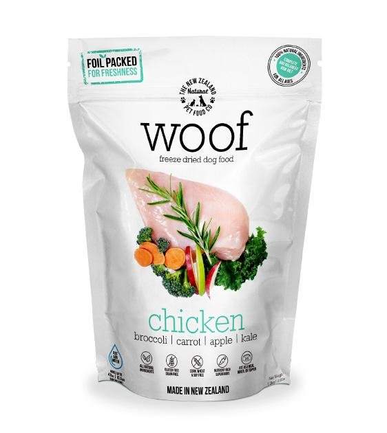 30% OFF: WOOF Freeze Dried Raw Chicken Dog Food