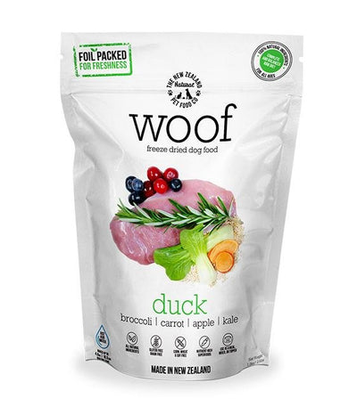 $5.50 + 30% OFF: WOOF Freeze Dried Raw Duck Dog Food