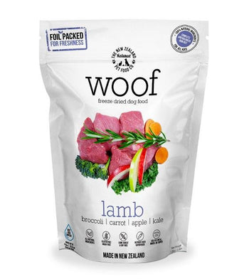 30% OFF: WOOF Freeze Dried Raw Lamb Dog Food