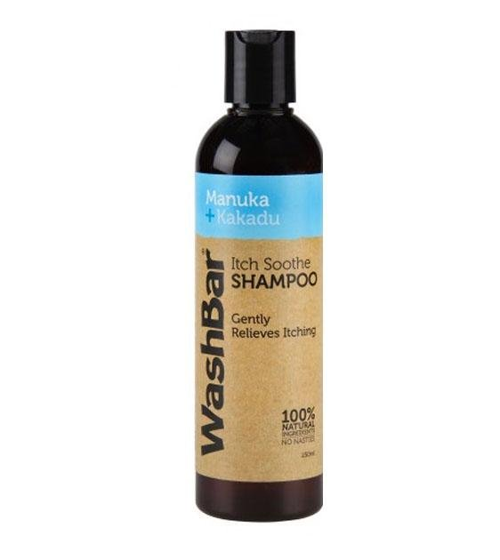 Washbar Natural Itch Soothe Dog Shampoo (With Manuka & Kakadu Oil)