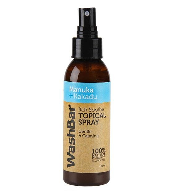 Washbar Natural Itch Soothe Topical Spray for Dogs (With Manuka & Kakadu Oil)
