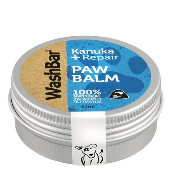 Washbar Natural Paw Balm for Dogs (With Kanuka Oil)