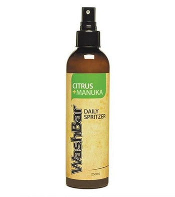 Washbar Smell Fresh Natural Daily Spritzers for Dogs (Citrus & Manuka)
