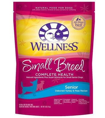 30% OFF: Wellness Complete Health Small Breed Senior Dry Dog Food