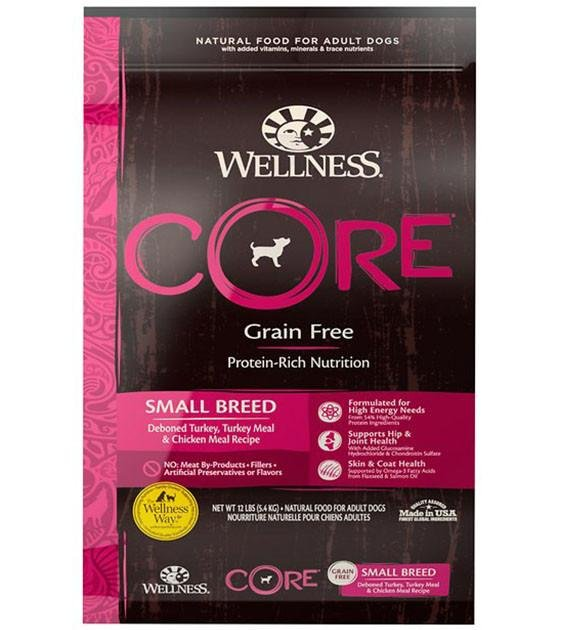 20% OFF: Wellness Core Grain Free Small Breed Dry Dog Food