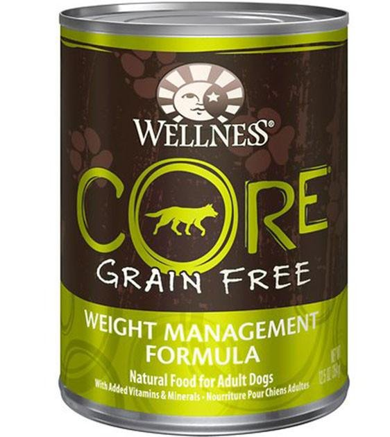 Wellness Core Grain Free Weight Management Canned Dog Food