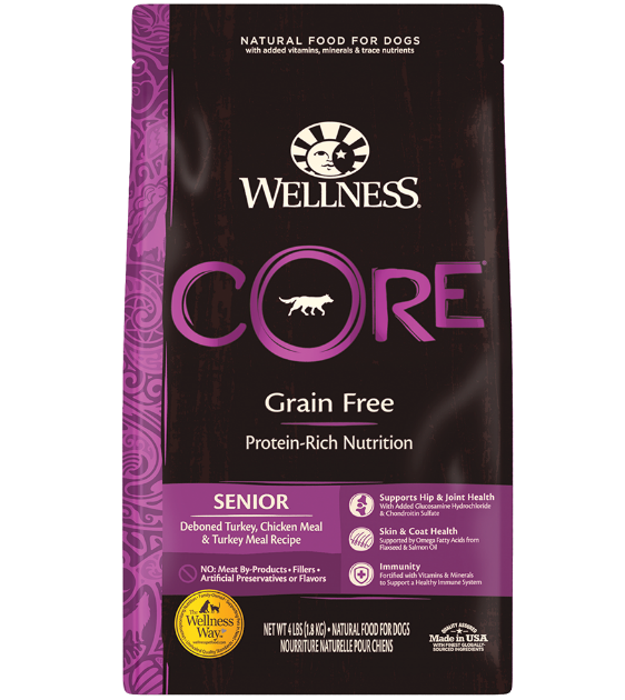 Wellness Core Grain Free Senior Dry Dog Food