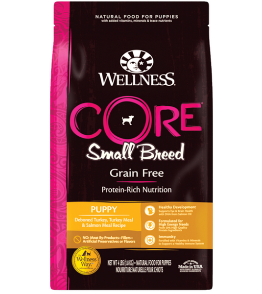 Wellness Core Grain Free Small Breed (Puppy) Dry Dog Food