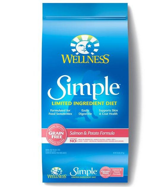 20% OFF + FREE TOPPER: Wellness Simple Salmon & Potato Formula Dry Dog Food