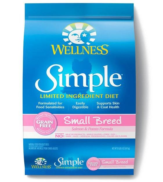 20% OFF: Wellness Simple Small Breed Salmon & Potato Formula Dry Dog Food