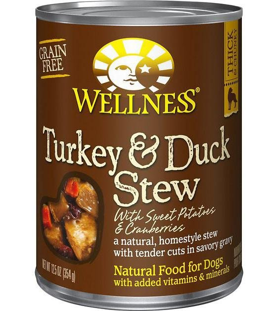 Wellness Stews Turkey & Duck Stew with Sweet Potatoes & Cranberries Canned Dog Food