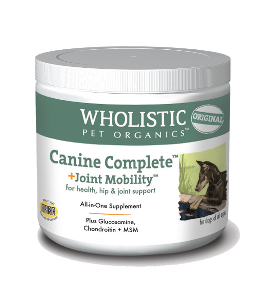 Wholistic Pet Organics Canine Complete Joint Mobility for Health, Hip & Joint Support Dog Supplements