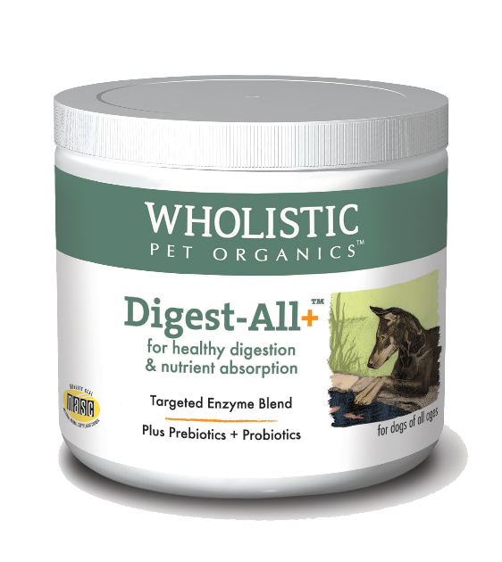 Wholistic Pet Organics Digest All for Healthy Digestion & Nutrient Absorption Dog Supplements