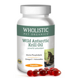 Wholistic Pet Organics Wild Antarctic Krill Oil Capsules Dog Supplements