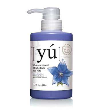 YU Chinese Bellflower Natural White Formula Dog Shampoo