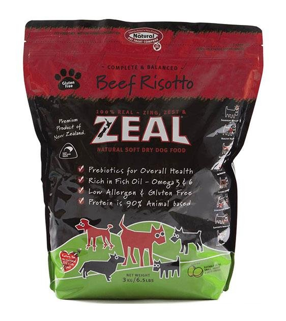 Zeal Beef Risotto Soft Dry Dog Food