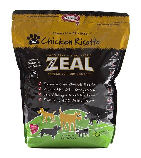 Zeal Chicken Risotto Soft Dry Dog Food