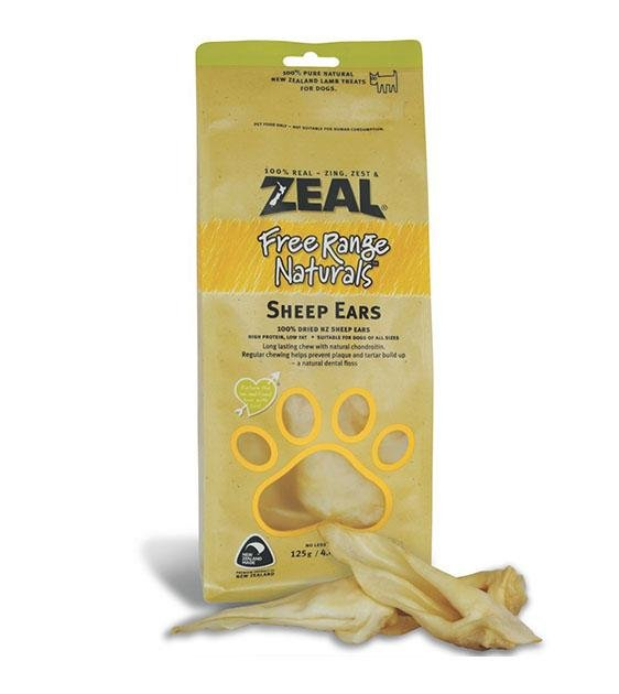BUY 2 FREE 1: Zeal Free Range Air Dried Sheep Ears Dog Treats