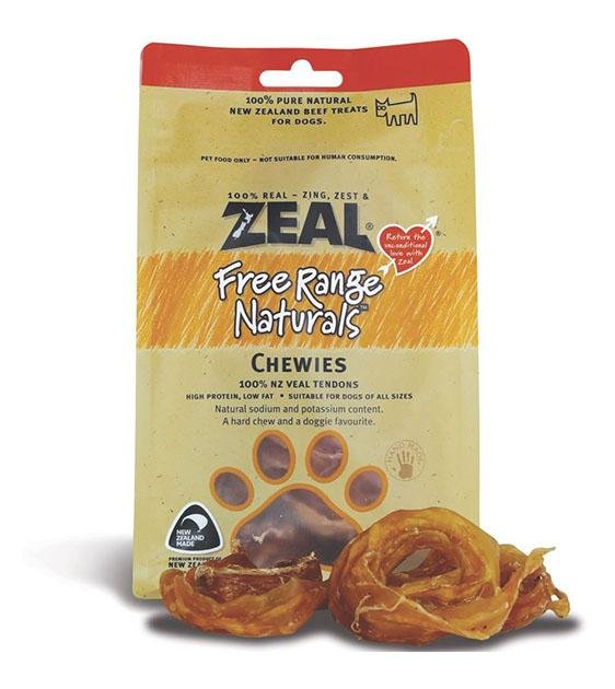 BUY 2 FREE 1: Zeal Free Range Air Dried Veal Chewies Dog Treats