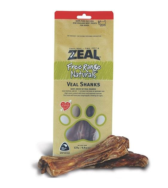 BUY 2 FREE 1: Zeal Free Range Air Dried Veal Shanks Dog Treats