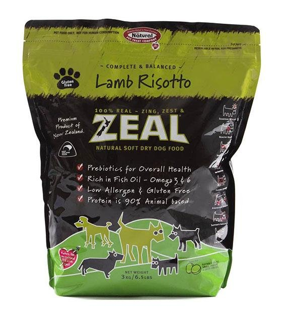 Zeal Lamb Risotto Soft Dry Dog Food