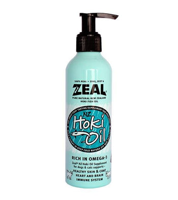 Zeal New Zealand Hoki Fish Oil Dog Supplement