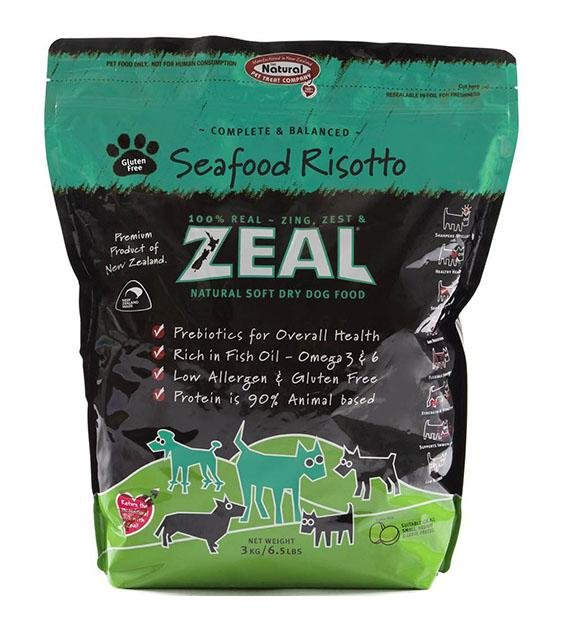 Zeal Seafood Risotto Soft Dry Dog Food