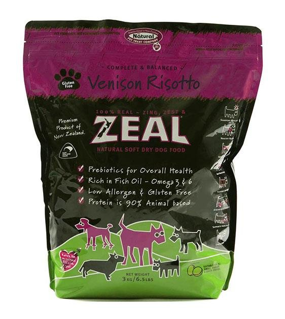 Zeal Venison Risotto Soft Dry Dog Food