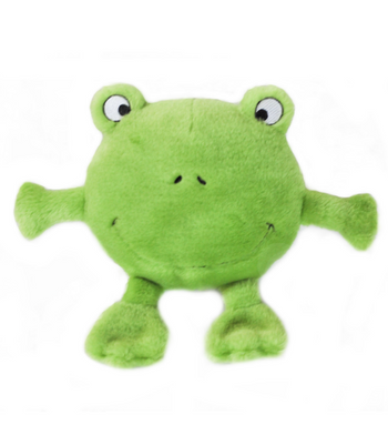 ZippyPaws Brainey Frog Dog Toys