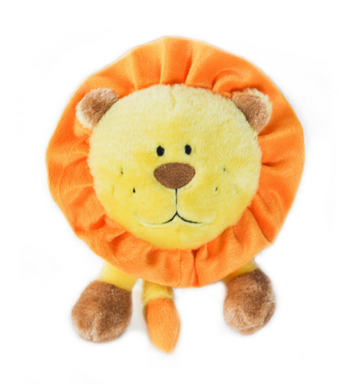 ZippyPaws Brainey Lion Dog Toys