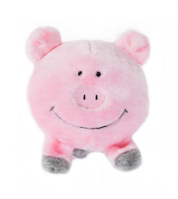 ZippyPaws Brainey Pig Dog Toys
