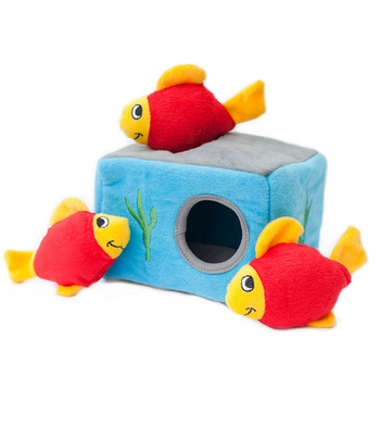 ZippyPaws Burrow Aquarium Dog Toys