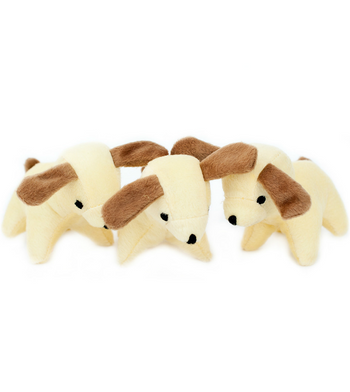 ZippyPaws Burrow Refill (3/Pack) Dogs Dog Toys