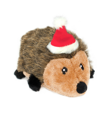 ZippyPaws Christmas Hedgehog Dog Toys