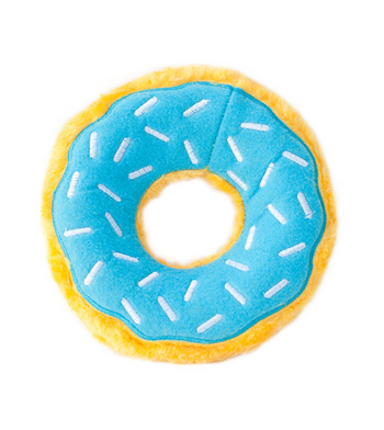 ZippyPaws Donutz Blueberry Dog Toys