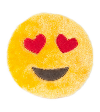 ZippyPaws Emojiz Heart Eyes Dog Toys