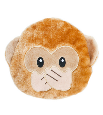 ZippyPaws Emojiz Monkey Dog Toys