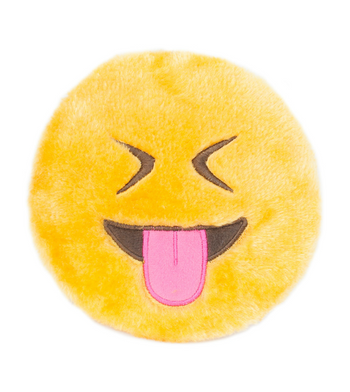 ZippyPaws Emojiz Tongue Out Dog Toys