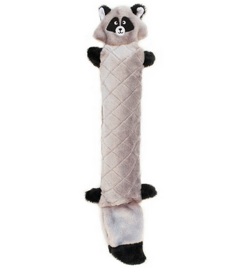 ZippyPaws Jigglerz Raccoon Dog Toys