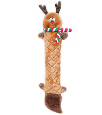 ZippyPaws Jigglerz Reindeer Dog Toys