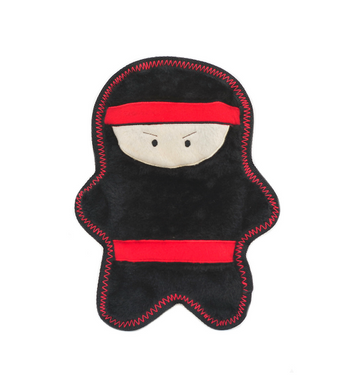 ZippyPaws Warriorz Nobu the Ninja Dog Toys