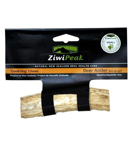 ZIWI Peak Deer Antler Small Oral Health Chews For Dogs