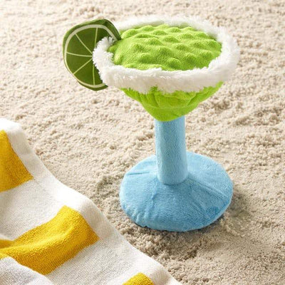 $18 ONLY: BarkShop Muy Squeaky Margarita Dog Plush Toy
