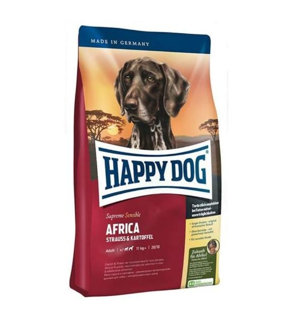 10% OFF: Happy Dog SENSIBLE Africa Ostrich & Potato Grain Free Dry Dog Food